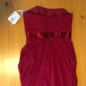 David Bridal Red Dress